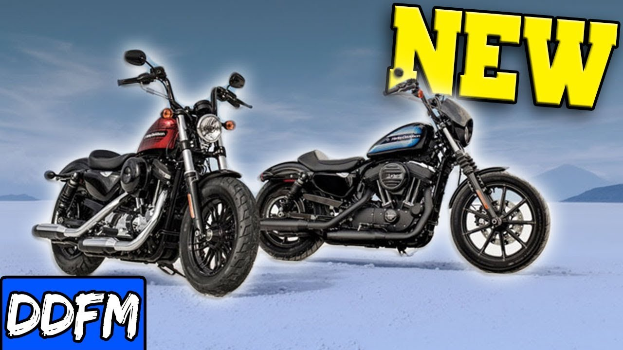 NEW 2018 Sportsters! The Iron 1200 & Harley 48 Special! - YouTube