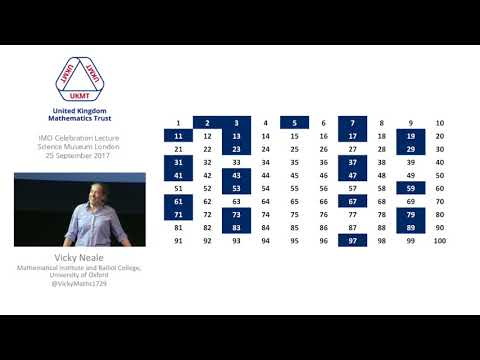 Closing the Gap by Vicky Neale - International Mathematical Olympiad Celebration Lecture 2017