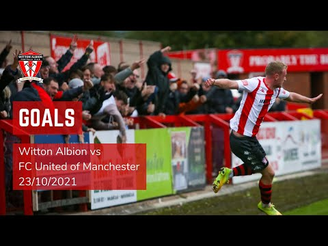 Witton FC United Goals And Highlights