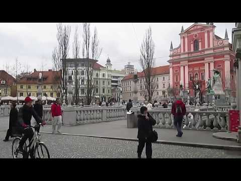 Center of Ljubljana, Slovenia