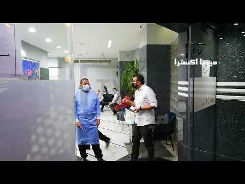 بدء توافد الفنانين وحضور شيماء سيف على مستشفى الصفا لوداع سمير غانم