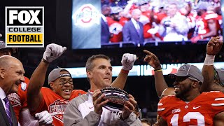 Urban Meyer on why he ran up the score against Wisconsin in 2014 | Ring Chronicles | CFB ON FOX