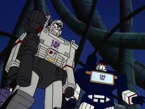 Transformers G1 (Latino):Megatrón Controla A Los Droids Centuriones