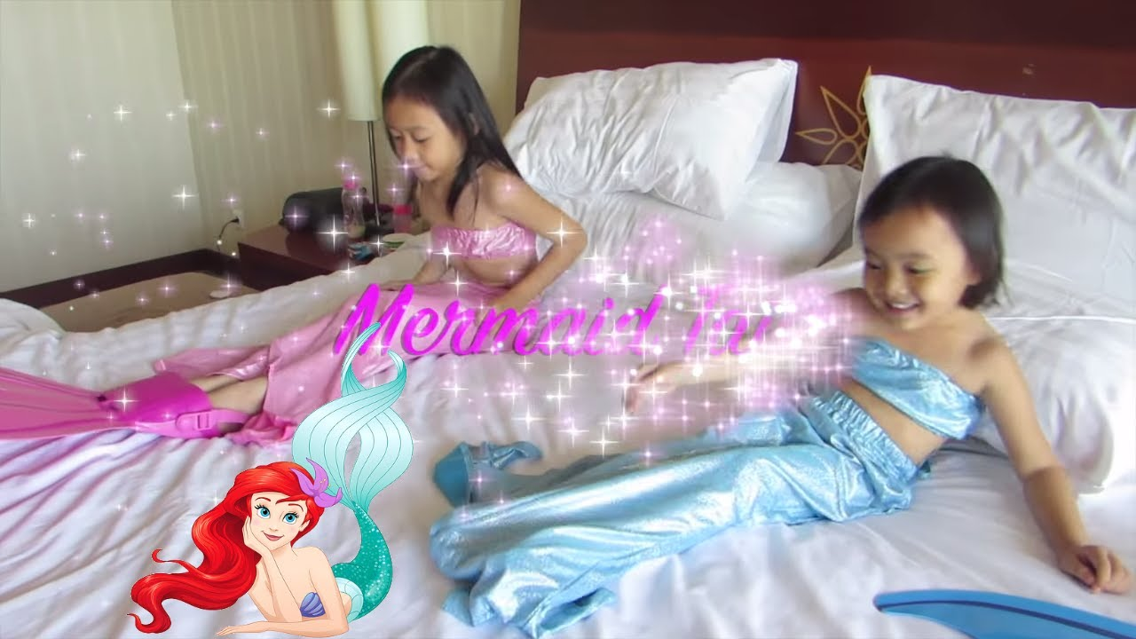 2 Mermaid Tail Kids How To Use Mermaid Tail in Swimming Pool