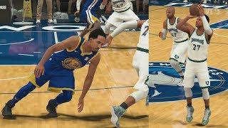 NBA 2K18 My Career - Curry Range vs Warriors! PS4 Pro 4K Gameplay thumbnail