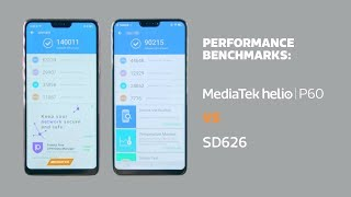 MediaTek Helio P60 vs SD626 | Performance Benchmarking Comparison
