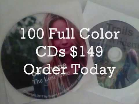 Cheapest Short Run CD Duplication  100 Full Color CD Duplication Services $149