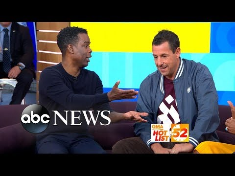 GMA Hot List: Chris Rock says Adam Sandler is the funniest guy I know