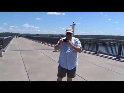 Walking Bridge Poughkeepsie NY, 8 3 2016