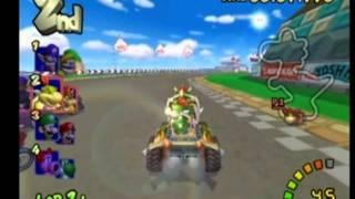 Mario Kart Double Dash - Bowser & Bowser Jr. - Star Cup 100cc