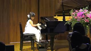杉並区Gクレフピアノ教室 2019年9月発表会 小1 チャイコフスキー「ポルカ」
