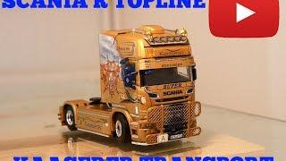WSI Modell Lkw Kaaserer Scania R Streamline Topline Showtruck 01-2028 TRUCKMO