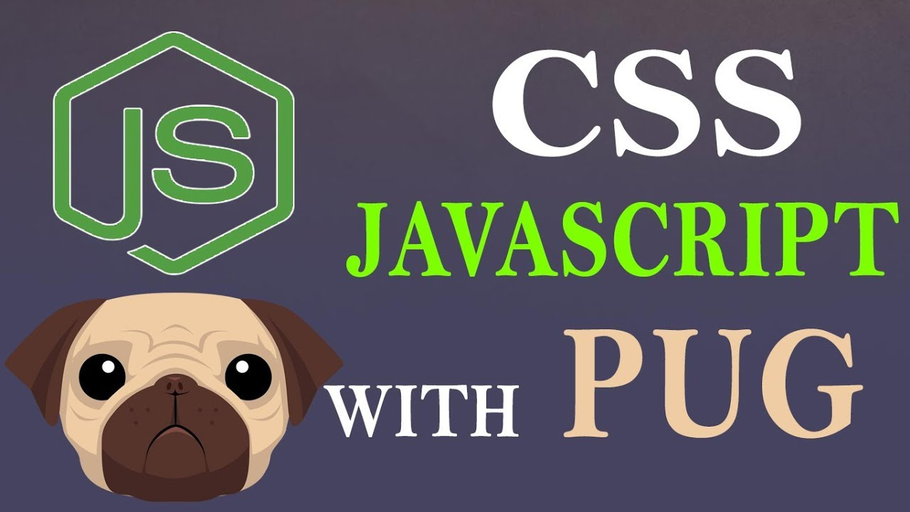 Use Static Files With PUG in Nodejs | Nodejs With Pug Tutorials