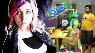#39 The Sims 4 - Ogrody, duchy, jedzenia!