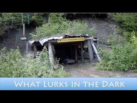 Abandoned Silver Mine and Forgotten Buildings