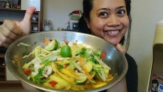 Resep cara membuat salad Thailand