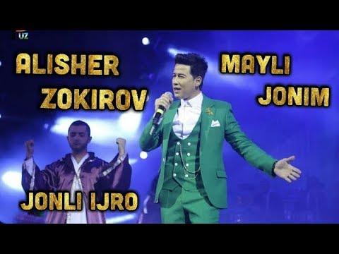 Alisher Zokirov Mayli Jonim - Jonli Ijro