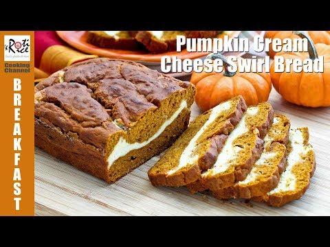 Pumpkin Cream Cheese Swirl Bread | Roti n Rice