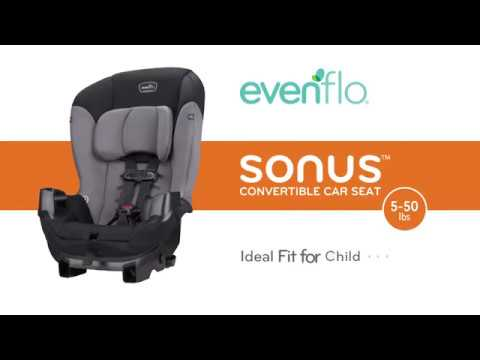 Evenflo Sonus Convertible Car Seat - Boomerang Green | Toys R Us Canada
