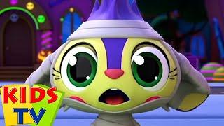 хэллоуин парад | потешки | детские песни | Kids Tv Russia | развивающий мультфильм