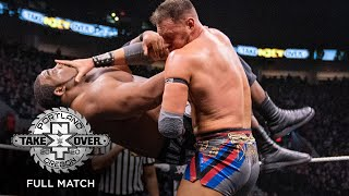 FULL MATCH - Keith Lee vs Dominik Dijakovic - NXT North American Title Match: NXT TakeOver: Portland