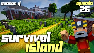Minecraft: Survival Island - Season 4 (Episode 26 - Frozen Farming)