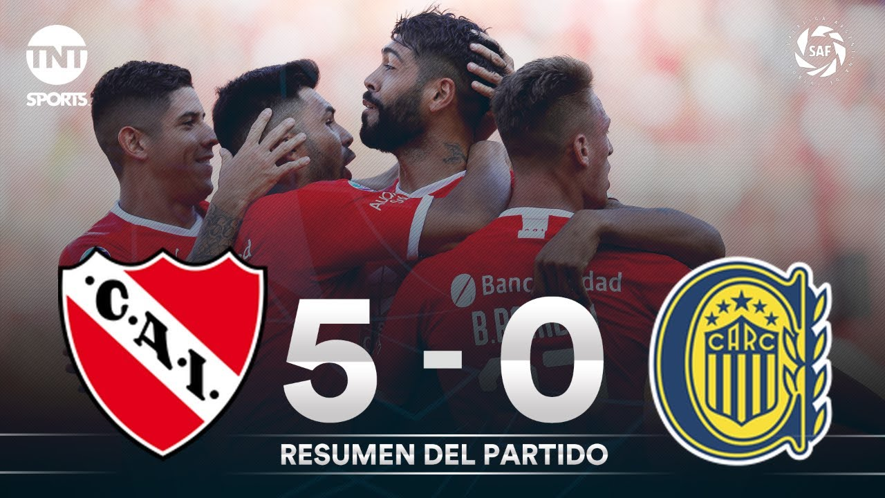 Resumen de Independiente vs Rosario Central (5-0)   Fecha 18 - Superliga Argentina 2019/2020