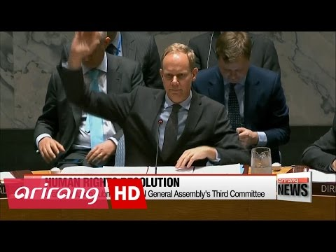 N. Korea rights resolution submitted to UN General Assembly