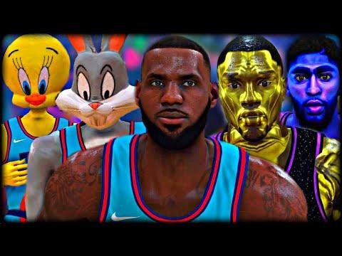 I Put SPACE JAM 2 into NBA 2K...