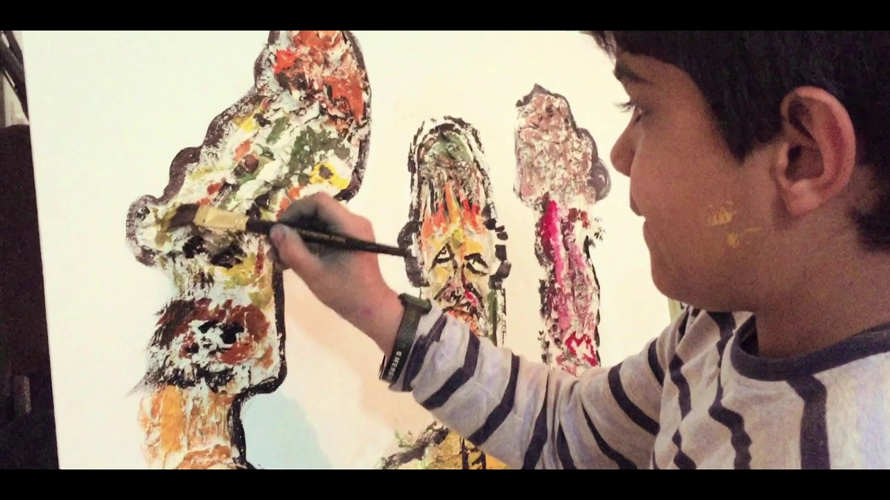 Child Artist - Aarav Verma - YouTube