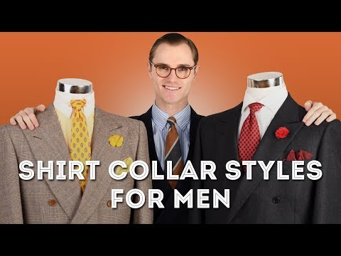Shirt Collar Styles for Men: A Complete Guide - Point, Spread, Cutaway & More