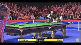 DECIDER O'Sullivan v Trump FINAL 2014 UK Championship