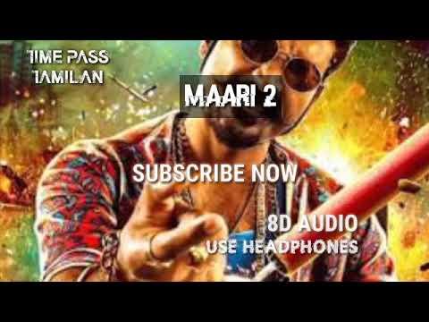 Rowdy Baby ll MAARI 2 ll 8D audio(fake version )