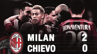 Video Gol Pertandingan AC Milan vs Chievo Verona