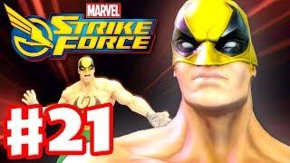 Marvel Strike Force - Gameplay Walkthrough Part 21 - Iron Fist!