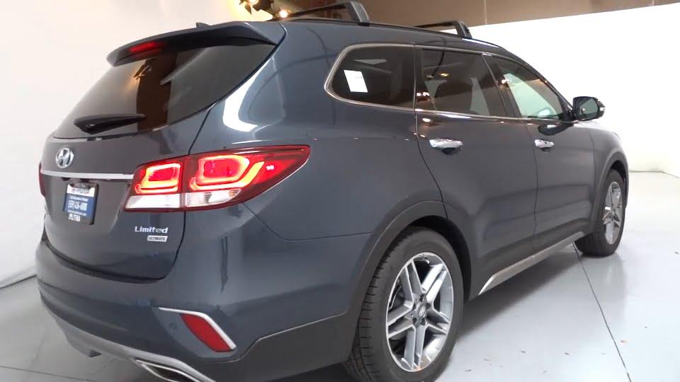 Lithia Hyundai Fresno >> 2017 HYUNDAI SANTA FE Fresno, Bakersfield, Modesto, Stockton, Central California HU201041 - YouTube
