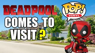 DEADPOOL FUNKO POP! DEADPOOL COMES TO VISIT? | SamTheHamTV