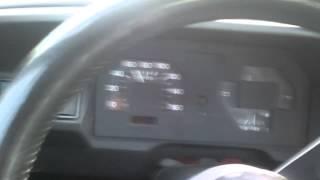 Fiat 127 new engine test drive