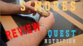 Quest S'mores Bars Review, Unbox, And Taste
