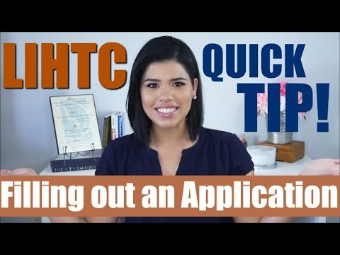 Filling Out An Application in an LIHTC Community PART 1 | Quick Compliance Tip