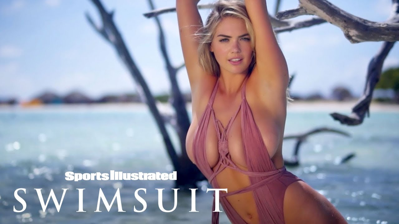 Kate Upton Is A Masterpiece In These Unique Swimsuits