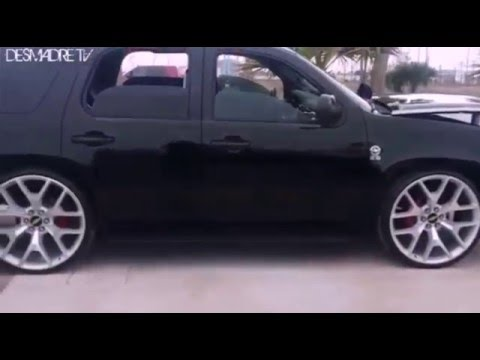 Lowered Tahoe On 26 Quot Gmc Replica Rims Youtube