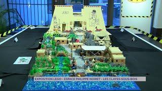 Yvelines | Les Clayes sous Bois : le Lego envahit l'espace Philippe Noiret