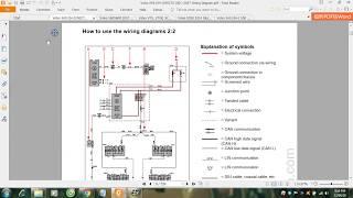 Volvo S40 04 V50C70 06  2007 Wiring Diagram
