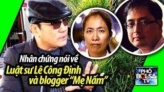 """Nhân chứng ở quận Cam nói về ls Lê Công Định và blogger """"Mẹ Nấm"""" Nguyễn Ngọc Như Quỳnh"""
