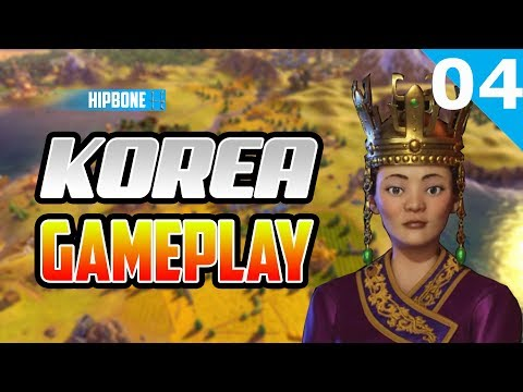Civilization 6 Rise & Fall - Korea Gameplay #04 - Generals Wanted!