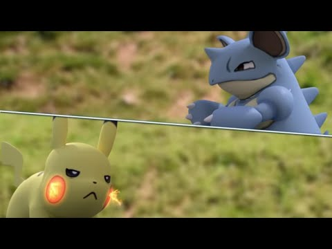 REAL LIFE Pokemon GO [Pokemon Battle]