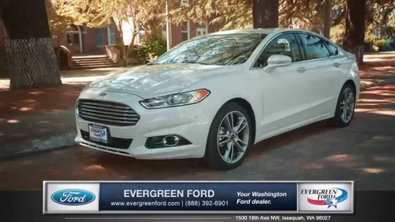 2017 Ford Fusion Walk Around Evergreen Serving Issaquah Wa Seattle