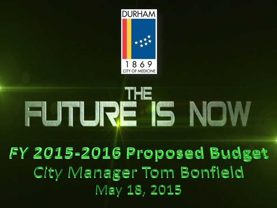 Proposed Fy 15 16 Budget Presentation Youtube
