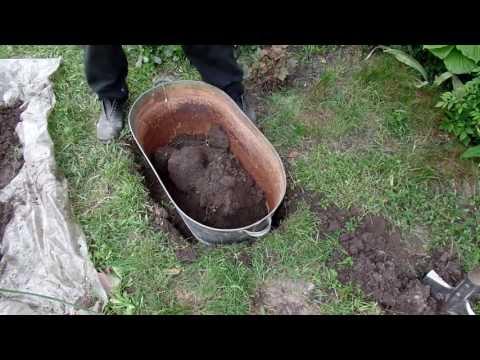 Оригинальная клумба для декоративной травы от Дачного мастера